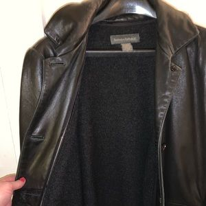**Vintage leather Banana Republic jacket!**